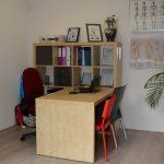 behandelkamer van De Praktijk voor Fysio- en Manuele Therapie Oldeberkoop